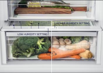 Control umiditate pentru alimente proaspete mai mult timp