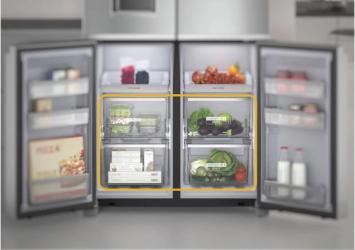 4 sertare congelator