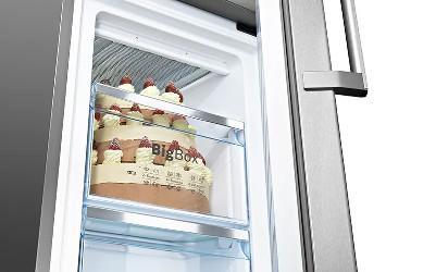 Mai mult spatiu pentru alimentele congelate XXL