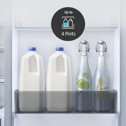 Depoziteaza sticle mai multe si mai mari in usa frigiderului
