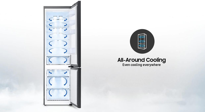 Racire perfect uniforma in tot frigiderul