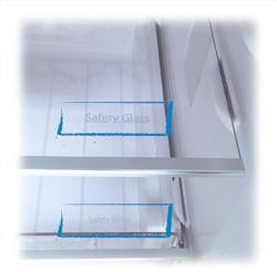 Rafturi Safety Glass ajustabile