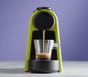 Incalzire rapida si presiune superioara Nespresso Essenza Mini D30 Verde