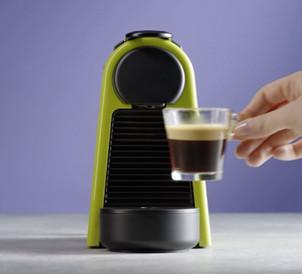 Economie de energie Nespresso Essenza Mini D30 Verde