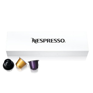 Set capsule de cafea cadou Nespresso Essenza Mini D30 Verde