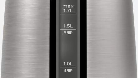 Scala gradata pentru o vizibilitate usoara a cantitatii de apa.