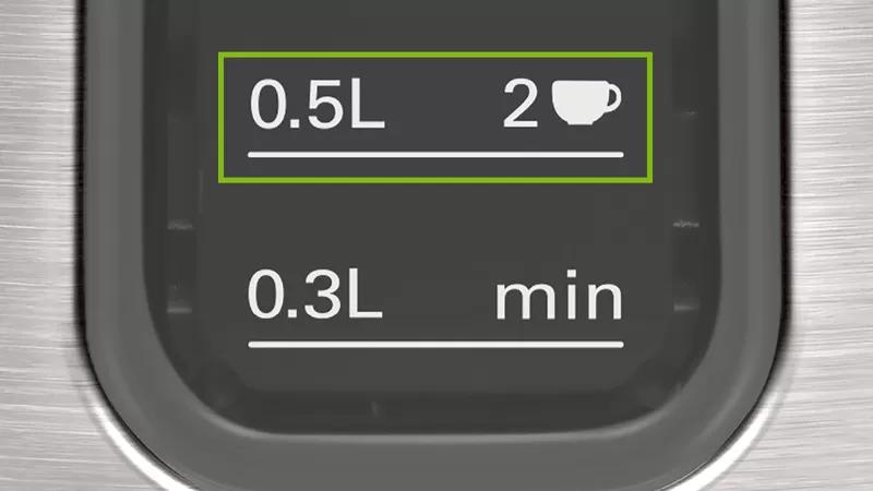 Economiseste timp si energie cu indicatorul pentru numarul de cesti