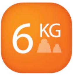 Capacitate incarcare 6 kg