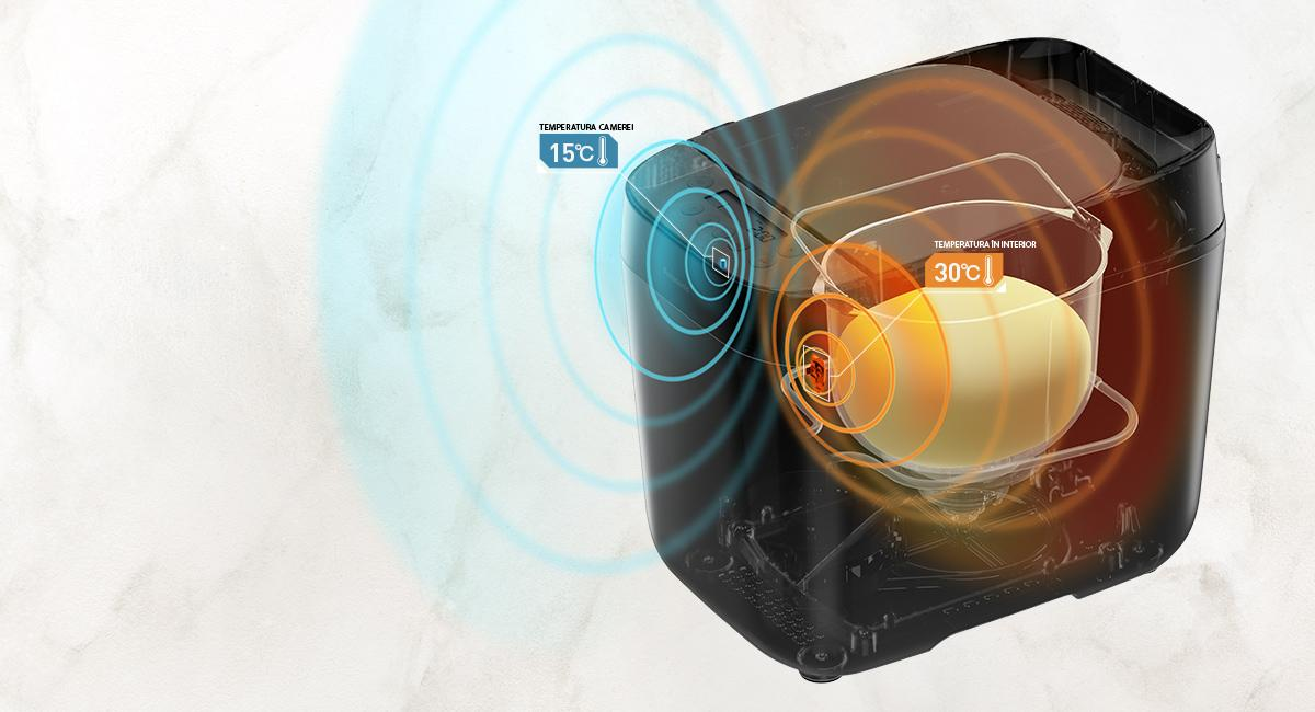 Senzori de temperatura pentru coacere perfecta