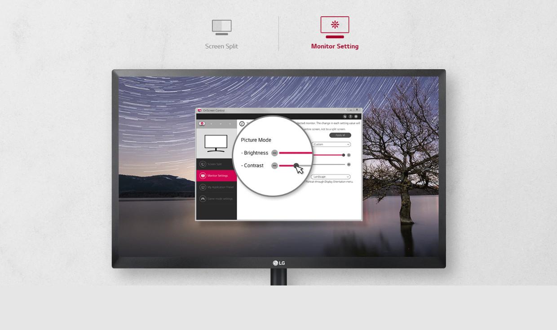 Controlul pe ecran