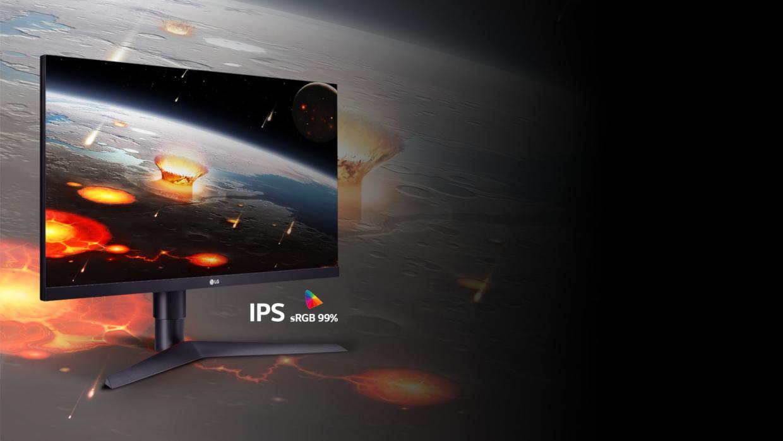 IPS cu sRGB 99%