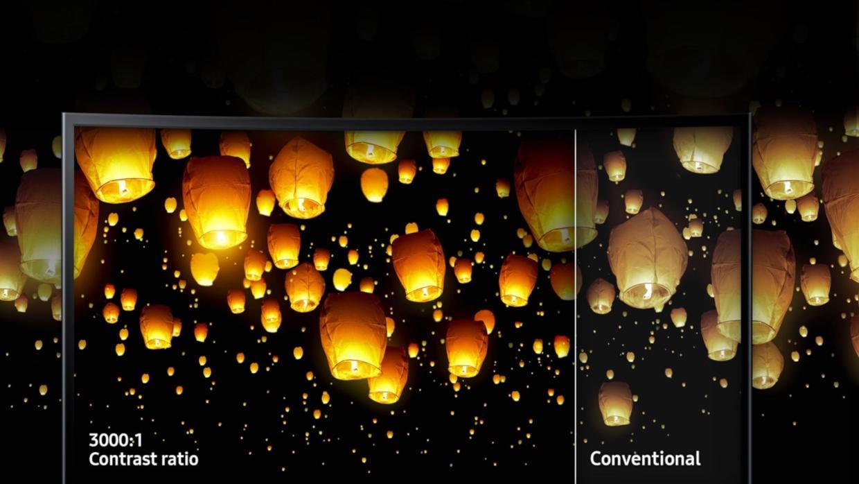 Calitate superioara a imaginii cu tehnologia avansata de afisare de la Samsung