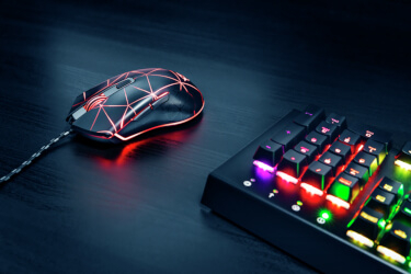 Mouse de gaming precis