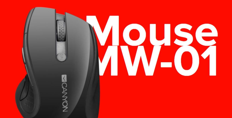 Mouse wireless Canyon