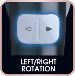 Buton pentru schimbarea sensului de rotatie