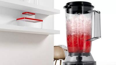 Prepara smoothie-uri cu blenderul inclus