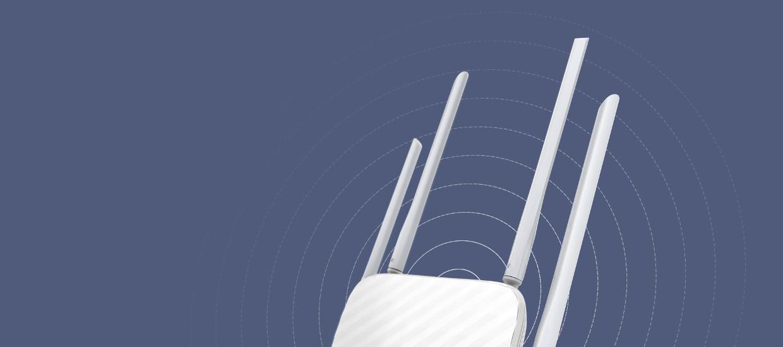 Design inovativ al antenelor pentru acoperire mare