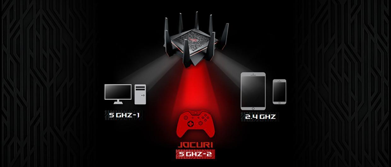 Router Wi-Fi dedicat in mod exclusiv jocurilor