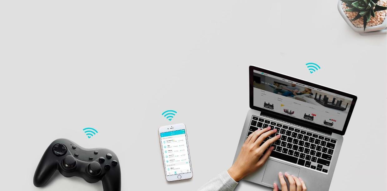 Eficienta crescuta pentru distributia semnalului Wi-Fi
