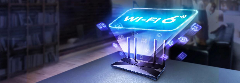 Wi-Fi 6 Dual-Band de pana la 1,8 Gbps