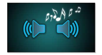 Difuzor integrat pentru a asculta la radio la volum ridicat si o calitate buna