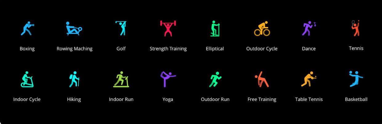 Moduri sport(lista partiala)