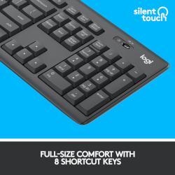 Confort full-size cu 8 taste pentru shortcuts