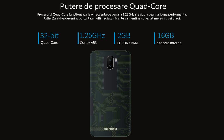 Putere de procesare Quad Core