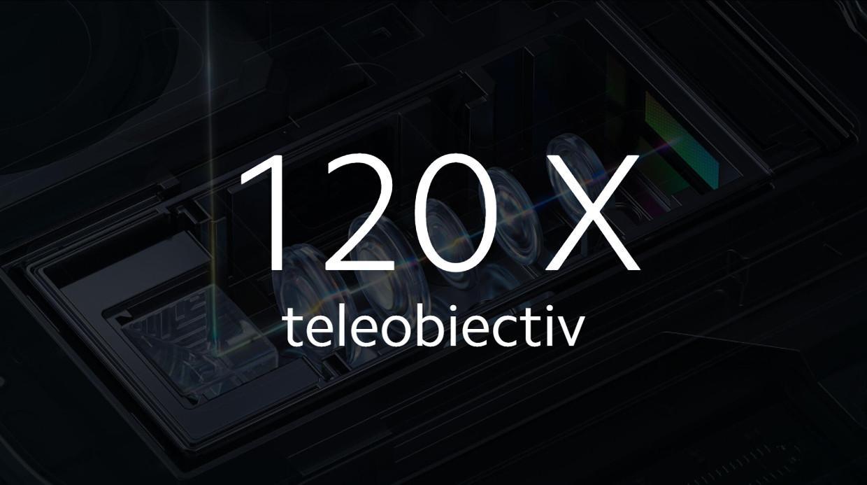 120 X teleobiectiv