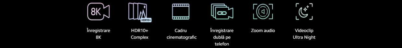 Camera de film puternica de 8K