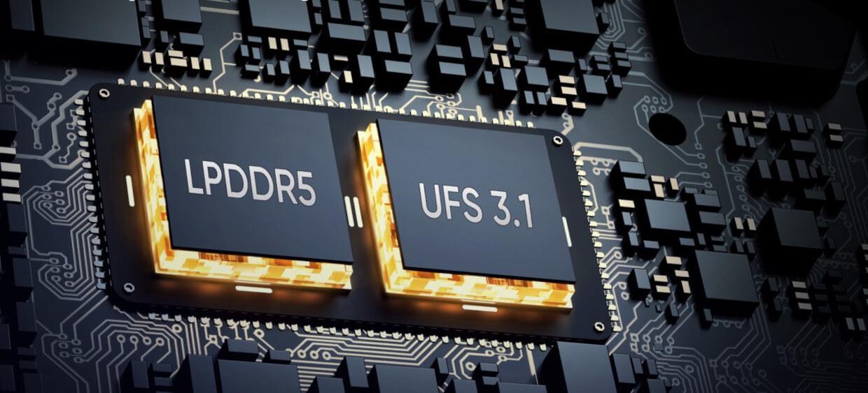 LPDDR5 si UFS 3.1