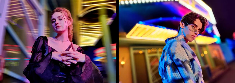 Dynamic Bokeh & Neon Portrait