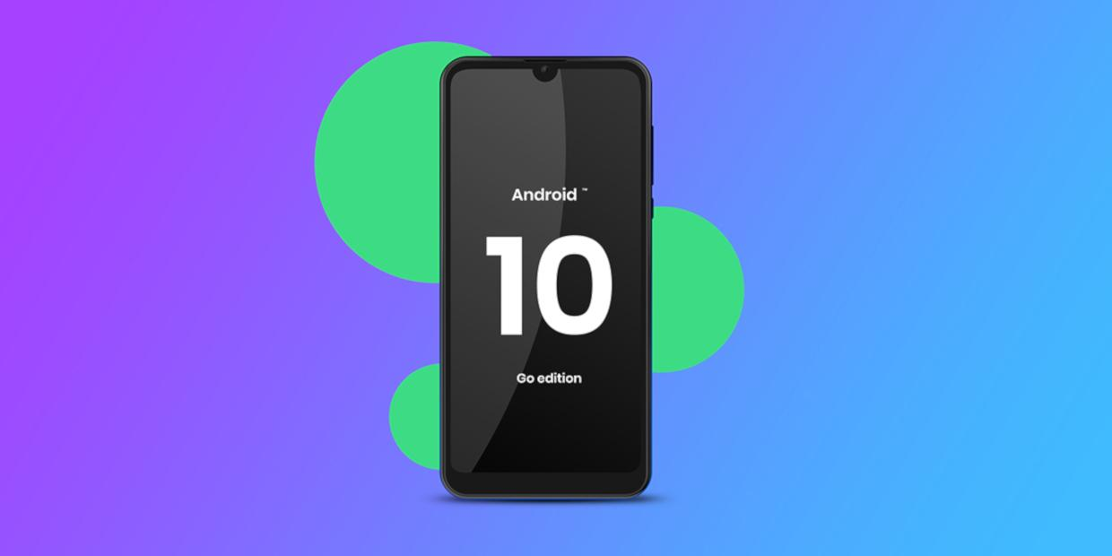 Android™ 10 (Go edition)