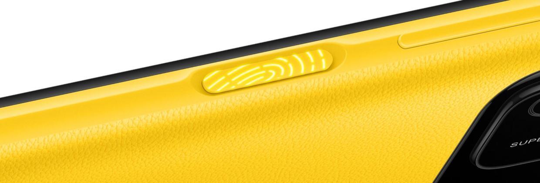 Senzor de amprenta montat lateral