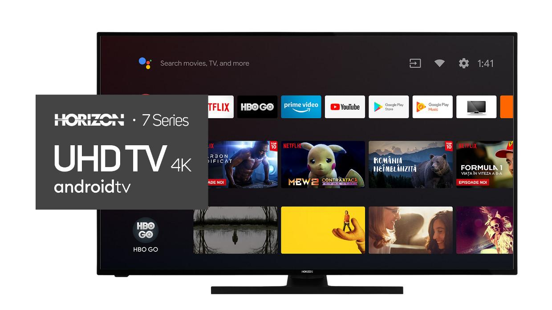 Frumusetea 4K UHD Smart TV