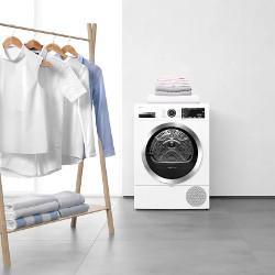 Uscare delicata a tesaturilor cu Sensitive Drying System.